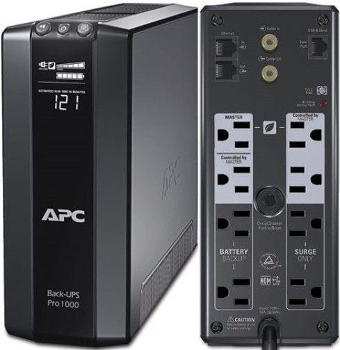 APC Back-UPS Pro 1000 UPS - 600W - 1000 VA