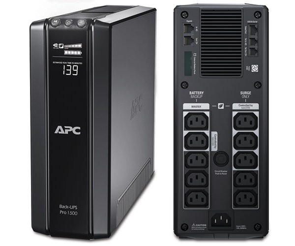 APC Back-UPS Pro 1500 UPS - 865 Watt - Lead acid